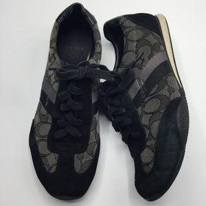 Coach Kelson Jacquard & Suede Sneakers
